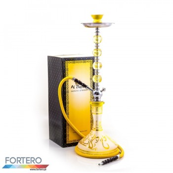Shisha Pleasure Large Stream Yellow