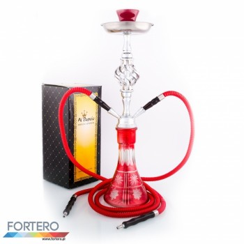 Shisha Pleasure Medium Twist Red