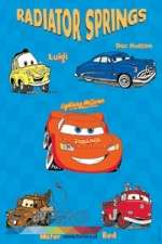 Toda Dywan Disney Cars 8