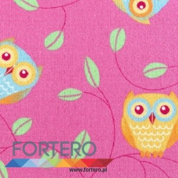 Happy Owl Pink