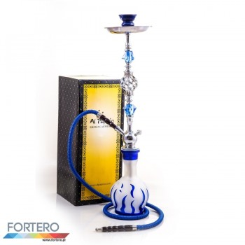 Shisha Pleasure Large Flames Blue