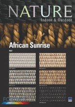 Sznurkowa Nature African Sunrise 4507 Grey 37