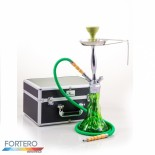 Shisha Prestige Koffer Fantasy Chrome Green