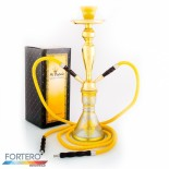 Shisha Pleasure Medium Art Gold