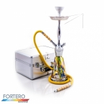Shisha Prestige Koffer Aquarium Chrome