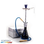 Shisha Prestige Koffer Royal Chrome Blue
