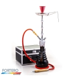 Shisha Prestige Koffer Royal Chrome Red